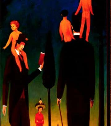 The Hap, also: Generation Gap, 36×16 inches, 1970